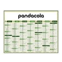 Calendrier bancaire 2022 publicitaire écologique multi-tailles - Eco - Pandacola