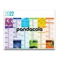 Calendrier bancaire 2022 personnalisable diffrentes tailles thématique - Couleurs - Pandacola