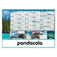 Calendrier bancaire 2022 promotionnel cartonné différentes tailles - Iles de paradis - Pandacola