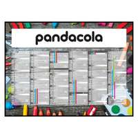 Calendrier bancaire 2022 personnalisable cartonné thématique - Scolaire - Pandacola
