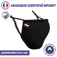 UNS1 sport 50 lavages - Masque certifié sport grand public à filtration garantie supérieure à 99%   Nantes - Pandacola