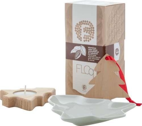Paniers gourmands produits sucrés - Coffret cadeau noël avec biscuit et sapin de noël - Matbit - Pandacola