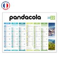 Calendrier bancaire personnalisable 4 saisons - Made in France - Pandacola