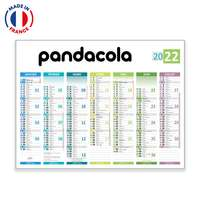 Calendrier bancaire personnalisable Prisme - Made in France - Pandacola