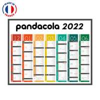 Calendrier bancaire personnalisable Tendance - Made in France - Pandacola