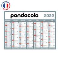 Calendrier bancaire personnalisable 2022 Classique - Made in France - Pandacola