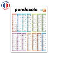 Calendrier bancaire personnalisable annuel - Made in France - Pandacola