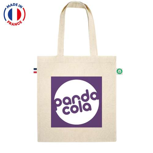 Sacs shopping - Impression numérique -Tote bag personnalisé coton 150 gr/m² - Made in France - Monu - Pandacola