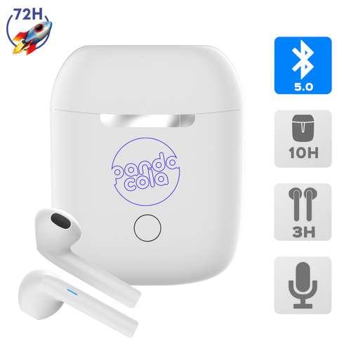 Ecouteurs - Ecouteurs sans fil avec boîtier de rechargement - Express 72H - Stereo | Akashi - Pandacola